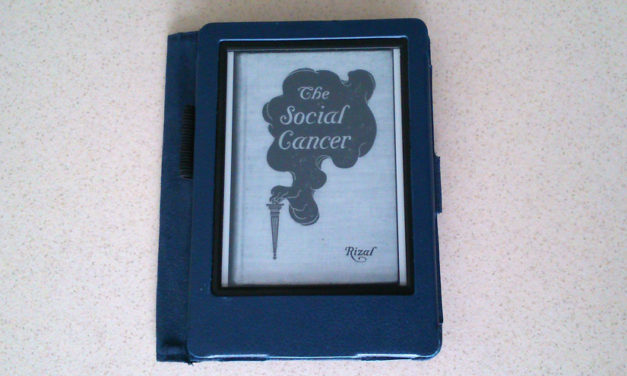 Review of The Social Cancer / Noli Me Tangere by José Rizal (translated by Charles Derbyshire)