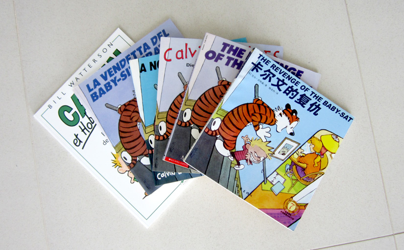 Calvin and Hobbes Books in Translation