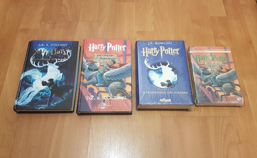 Harry Potter and the Prisoner of Azkaban in Bulgarian, Serbian, Romanian, and Slovene